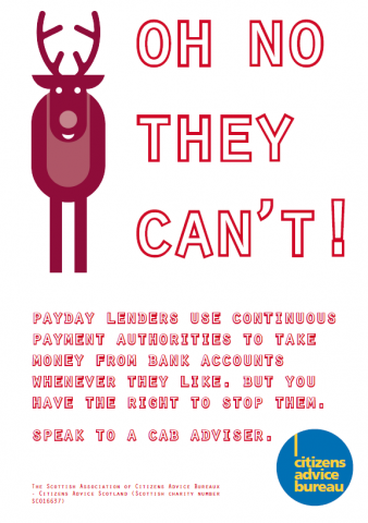 Payday Loans Campaign